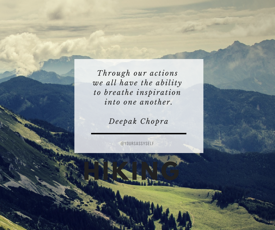 Through our actions we all have the ability to breathe inspiration into one another - Deepak Chopra - yoursassyself.com