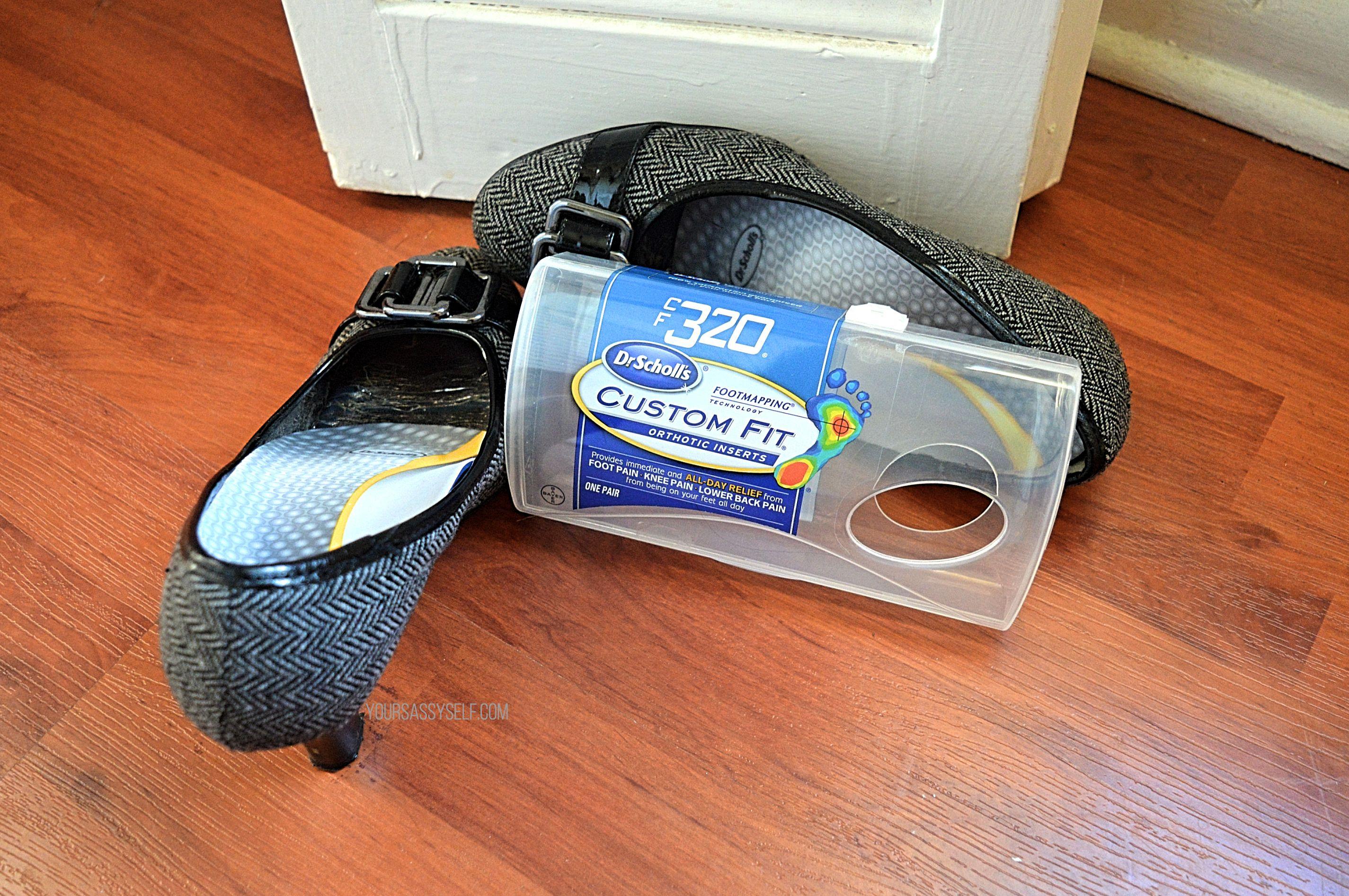 CF320 Custom Fit® Orthotics in High Heels - yoursassyselfcom