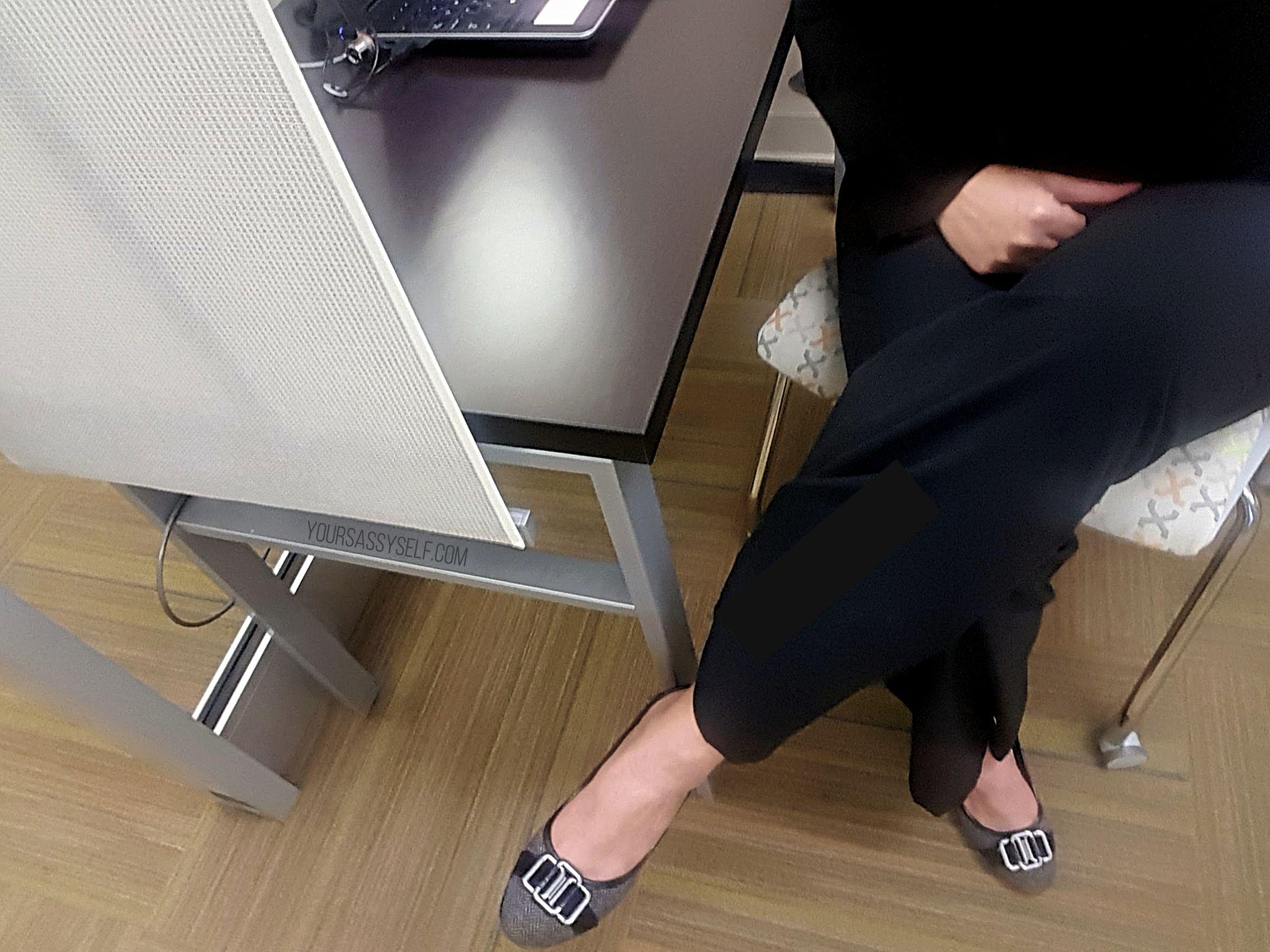 Sitting at Work - yoursassyselfcom