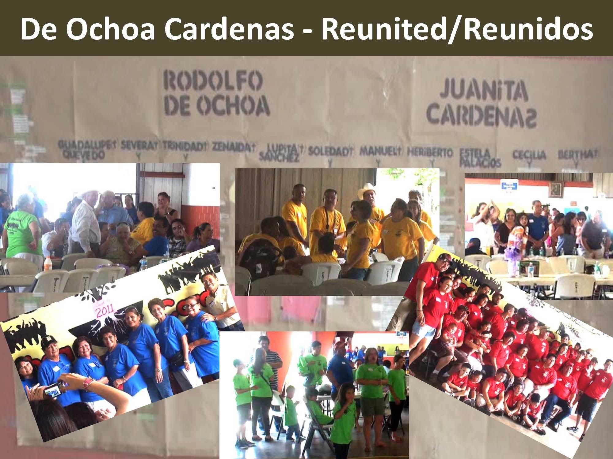 2011 De Ochao Cardenas Reunited