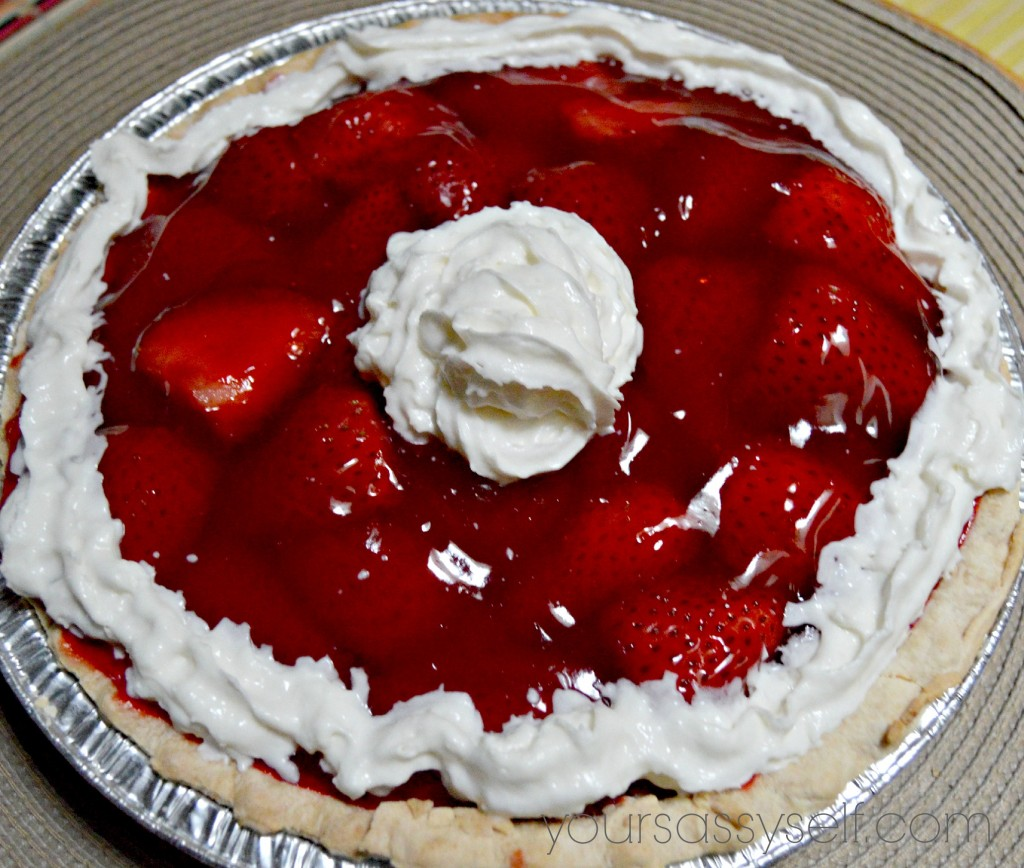 Strawberry Pie - yoursassyself.com