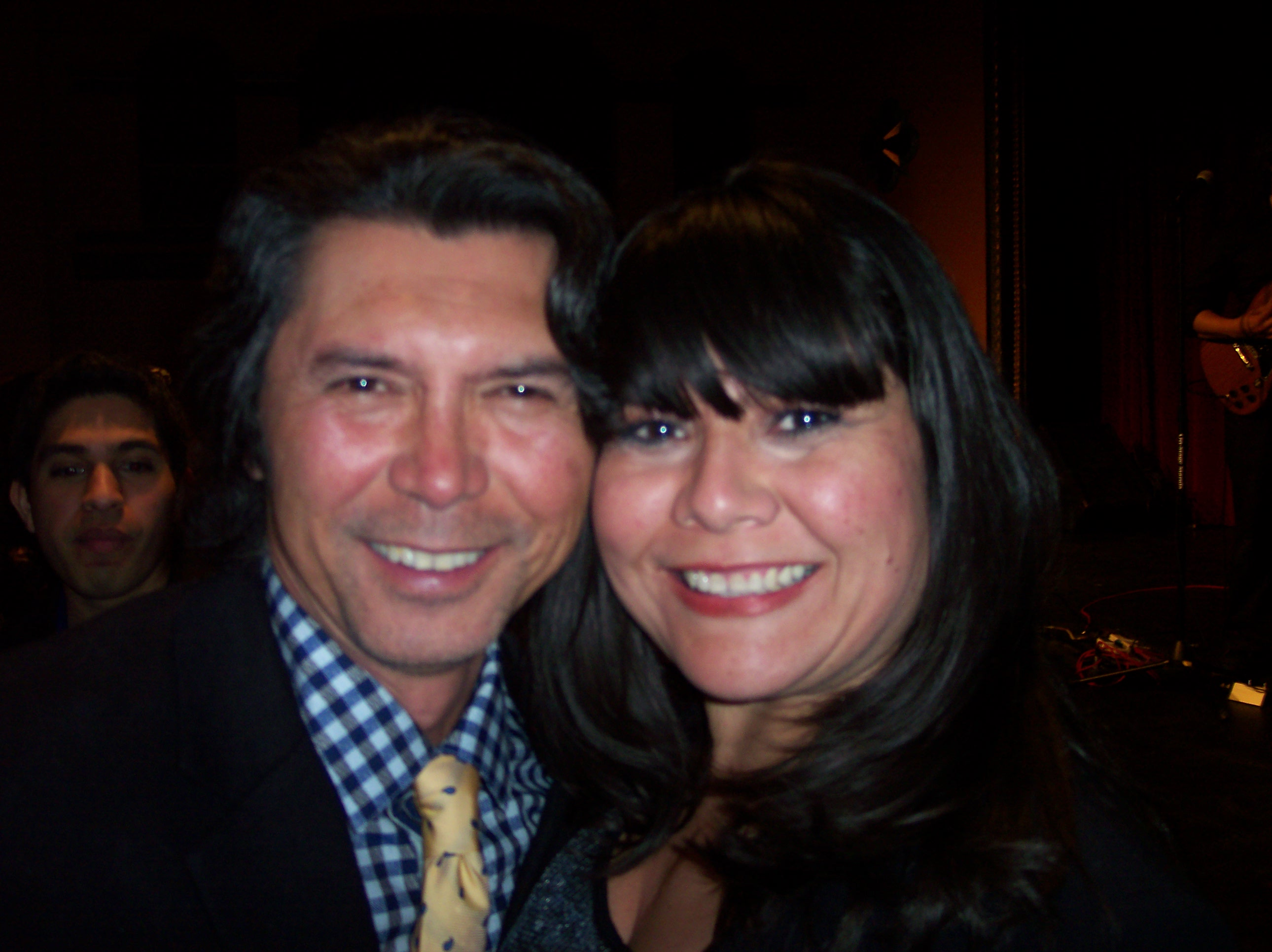 Lou Diamond Phillips and I