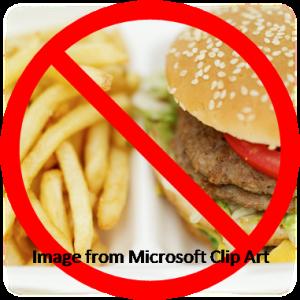 Ban on fast food