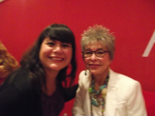 Rita Moreno and I
