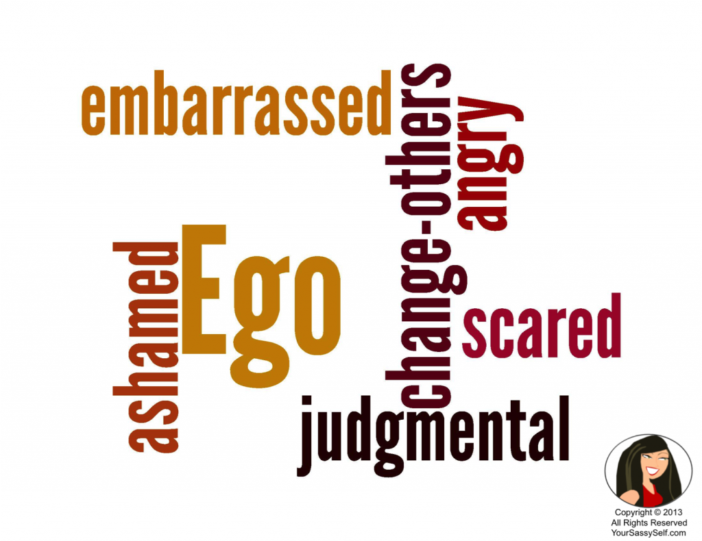 Ego Wordle-YourSassySelf.com