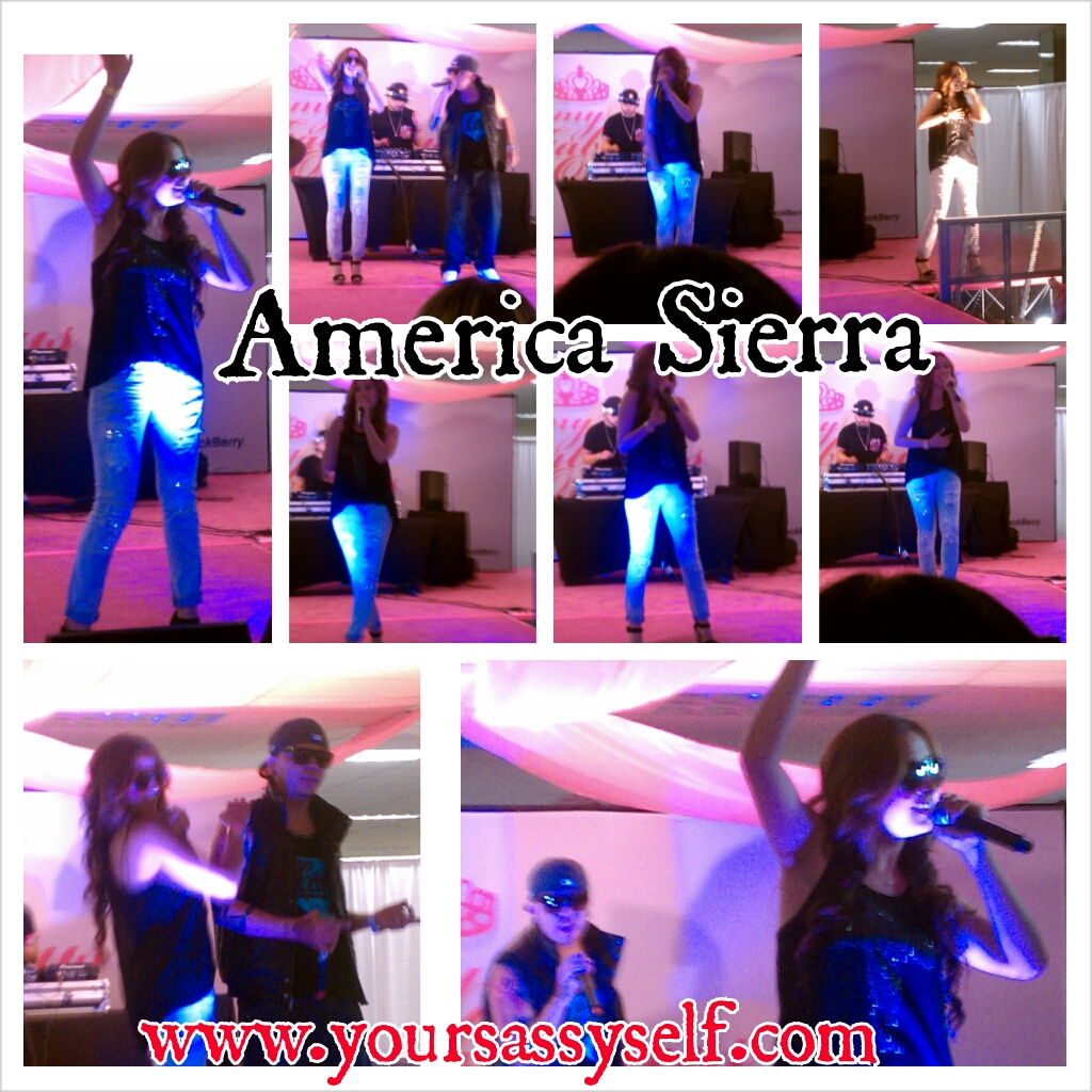 PhotoGrid_America Sierra pics from My Fabulous Quince expo 6/30/13