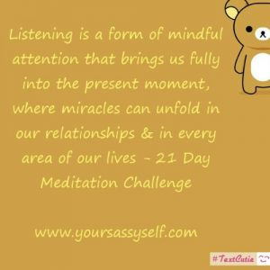 Listening-yoursassyself.com