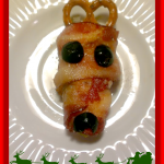 Reindeer Poppers – Bacon Wrapped Jalapeños with a Holiday Twist