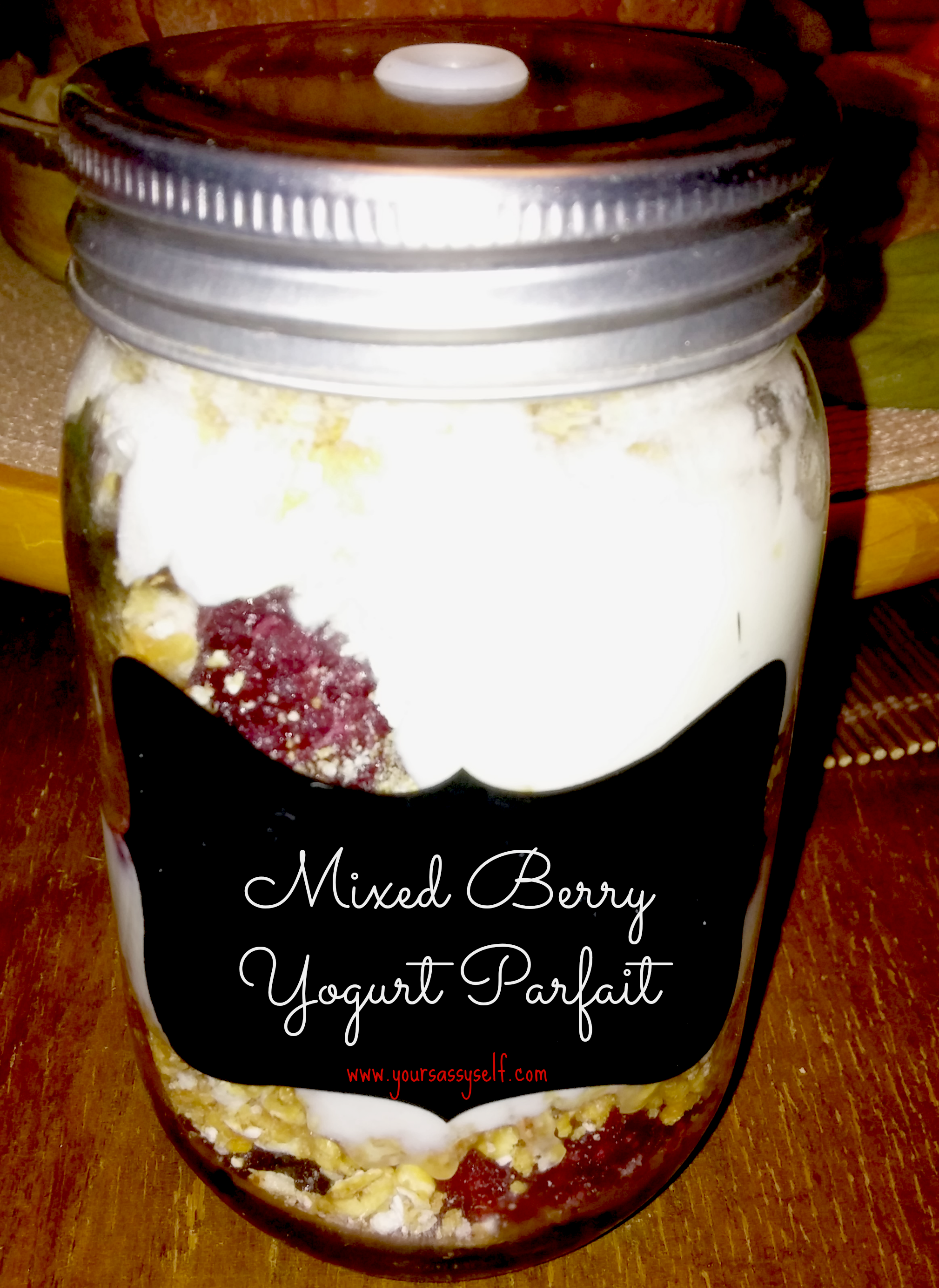 Deliciously Healthy Yogurt Parfait for Those on the Go