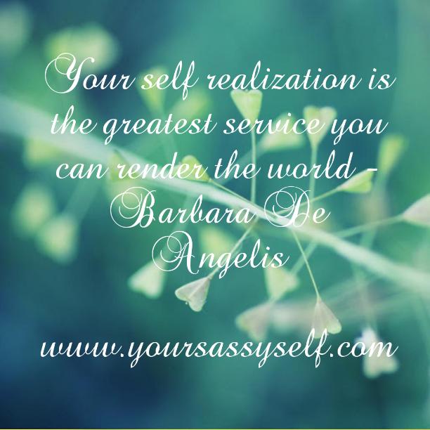SelfRealization-yoursassyself.com