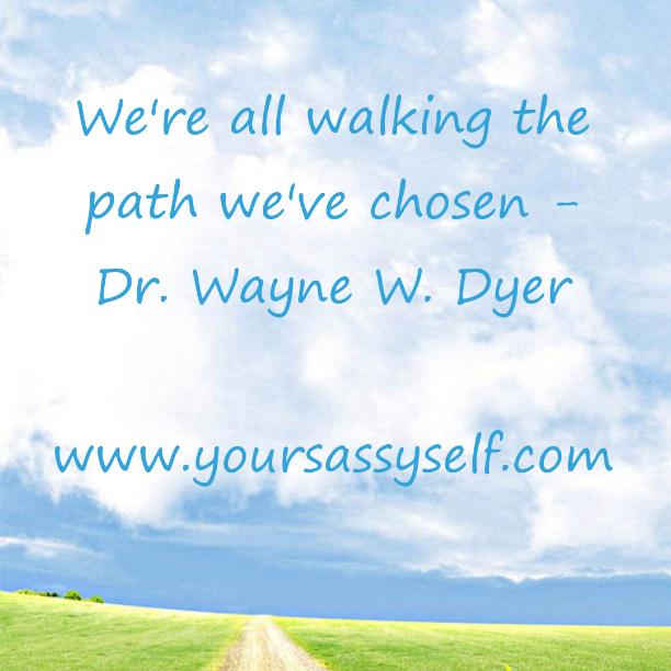 WalkingthePath-yoursassyself.com