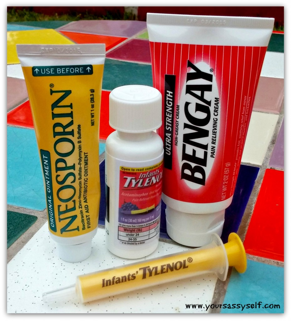 Healthy Essentials - Neosporin, Infant Tylenol, Bengay #ad