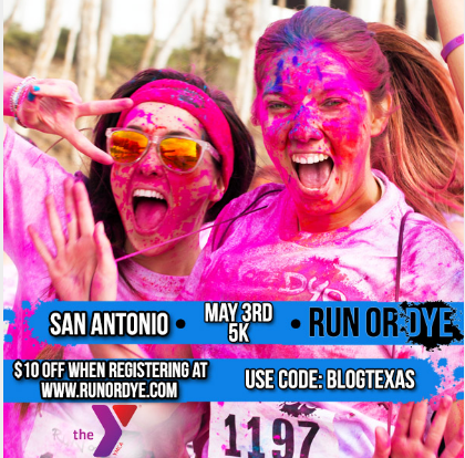 Run or Dye San Antonio 2014 Giveaway & Coupon Code