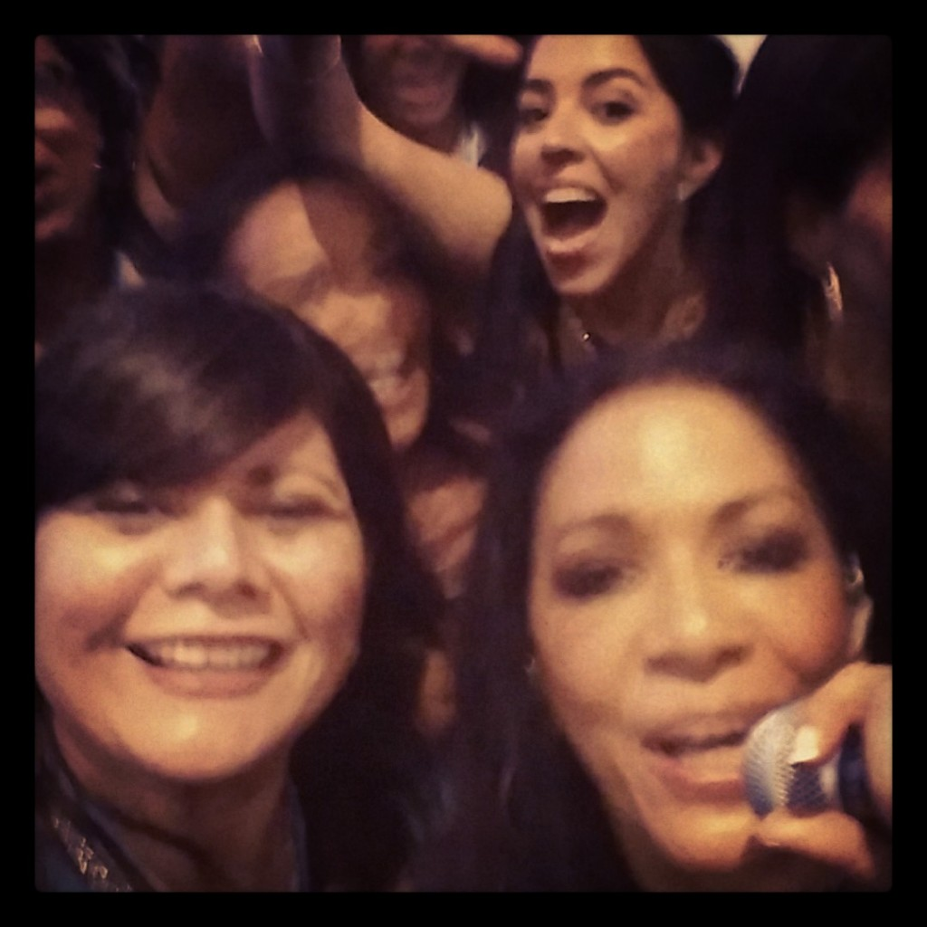 Selfie with Sheila E at 2014 Positive Impact Awards #Hispz14