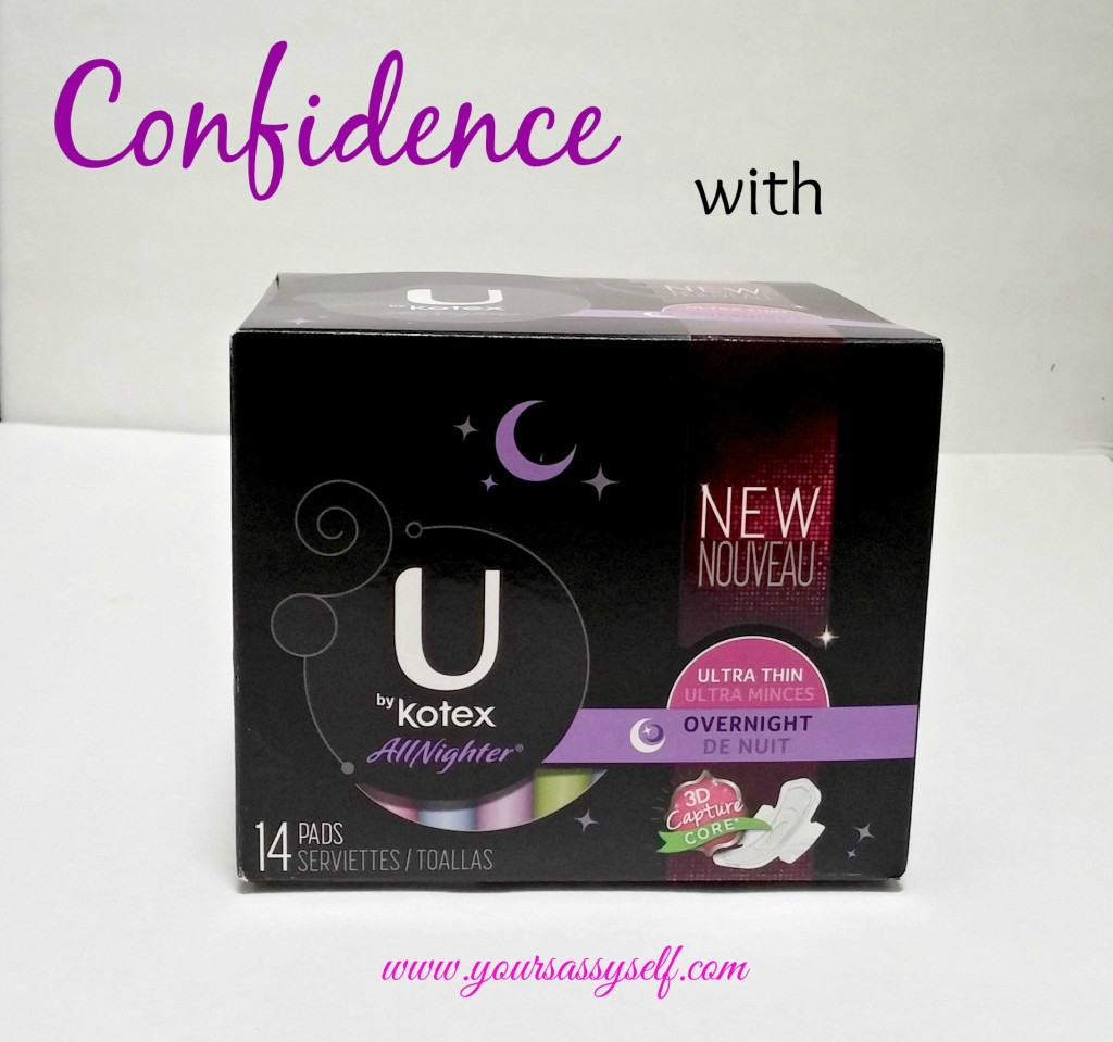 Confidence with U by Kotex-yoursassyself.com