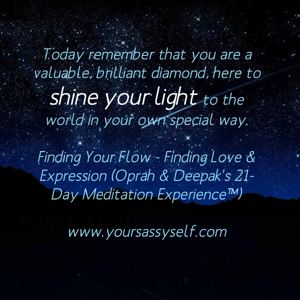 Shine Your Light Today-yoursassyself.com