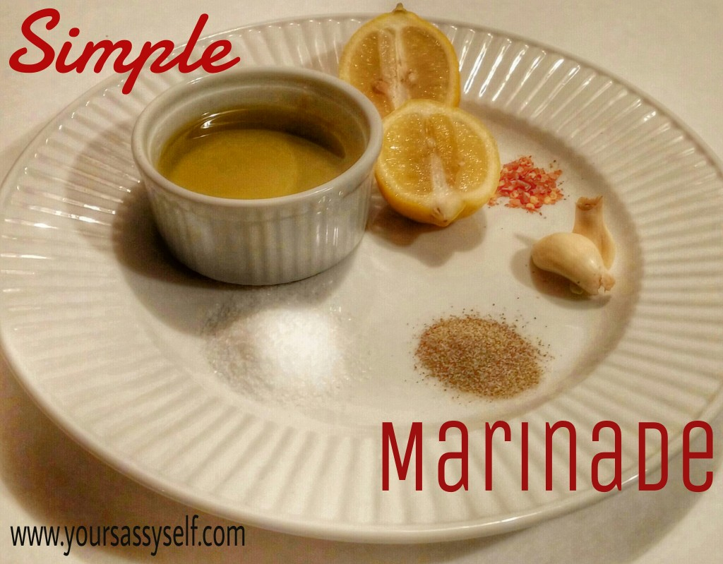 Simple Marinade-yoursassyself.com
