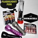 Flashlight Fun with Duracell #PrepWithPower