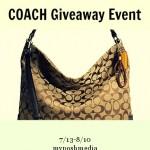 Summer Coach Handbag #Giveaway Event