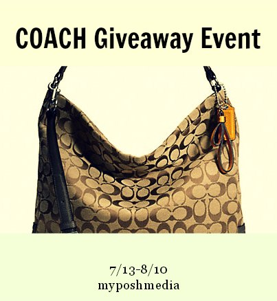 Summer Coach Handbag #Giveaway Event
