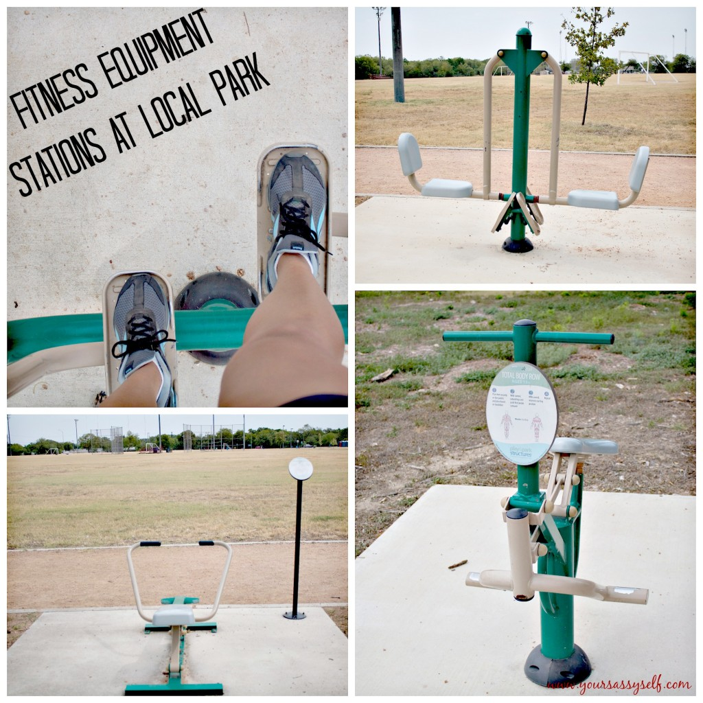 Fitness Equipment at Local Park-yoursassyself.com