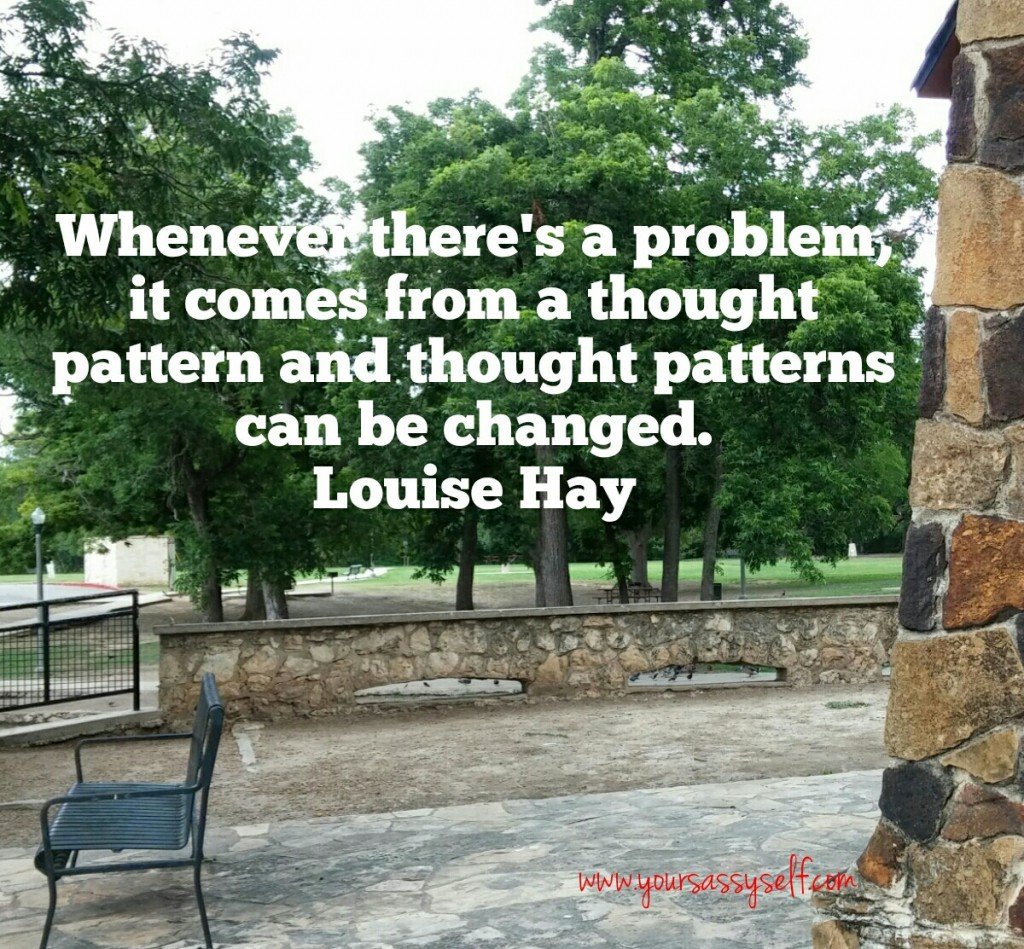 Louise Hay Quote On Problems-yoursassyself.com