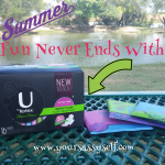 Summer Fun Never Ends with U by Kotex®