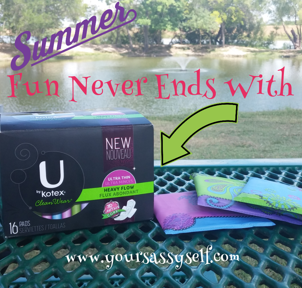 Summer Fun With UbyKotex-yoursasssyself.com
