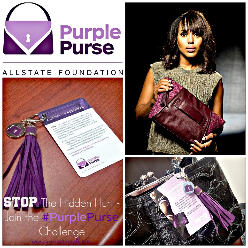 Allstate Purple Purse Challenge-yoursassyself.com