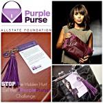 Stop The Hidden Hurt – Join the #PurplePurse Challenge