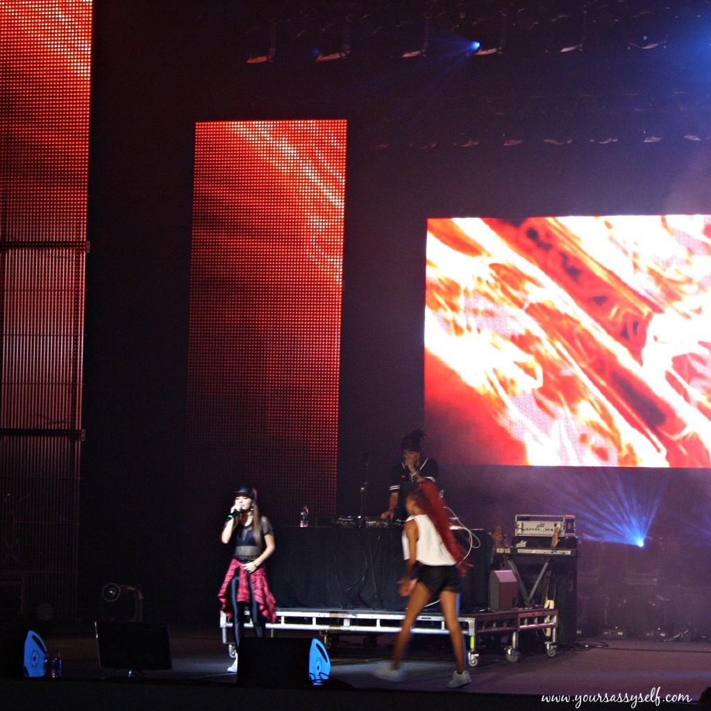 BeckyG at Chicas Poderosas concert-yoursassyself.com