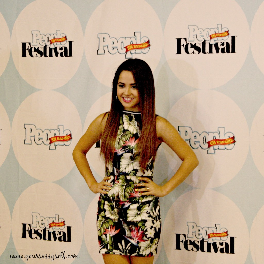 BeckyG at Chicas Poderosas Press Conference-yoursassyself.com
