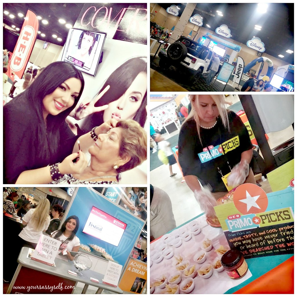 CoverGirl Jeep HEB & StrayerUniversity booths at #FestivalPeople-yoursassyself.com