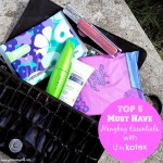 Top 5 Must Have Handbag Essentials with U by Kotex