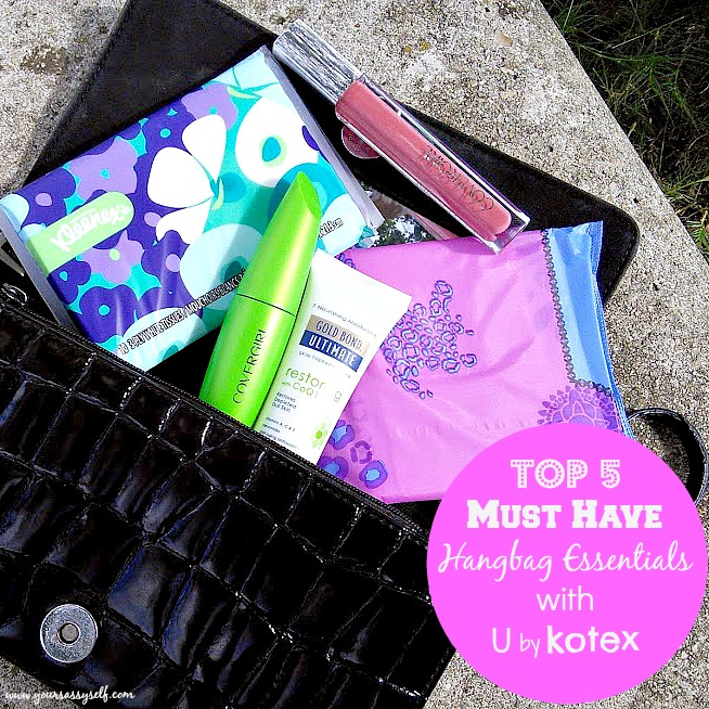 Handbag Essentials with UbyKotex-yoursassyself.com