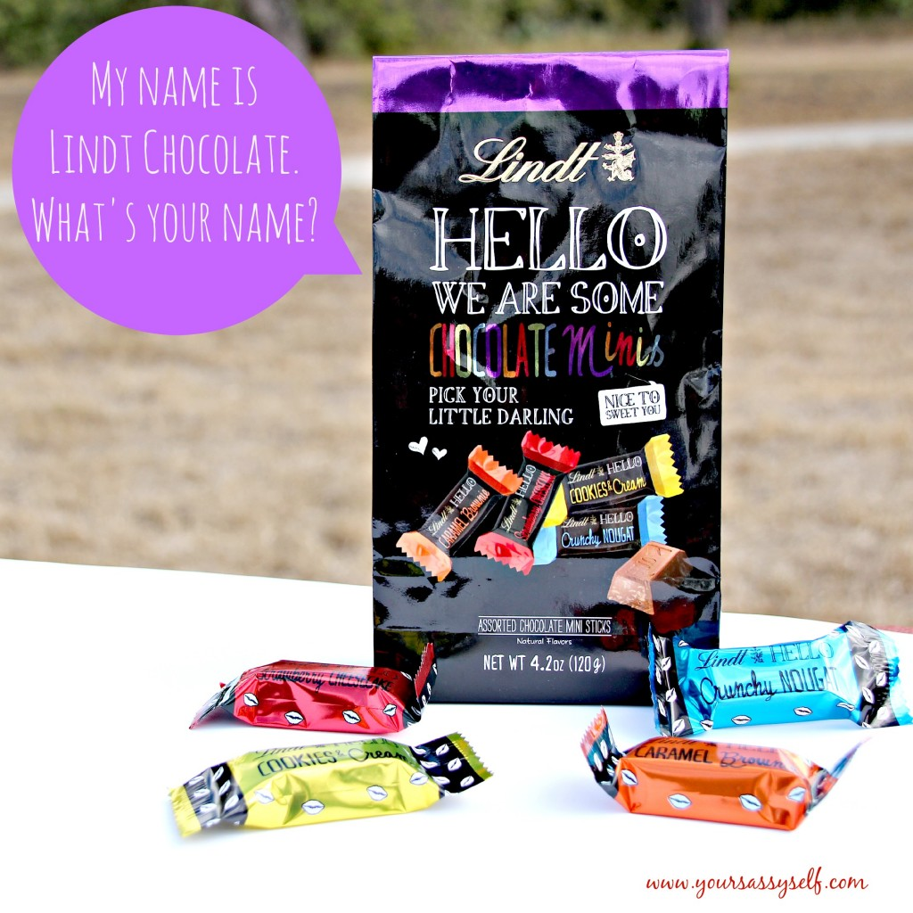 Hello Lindt Chocolate-yoursassyself.com
