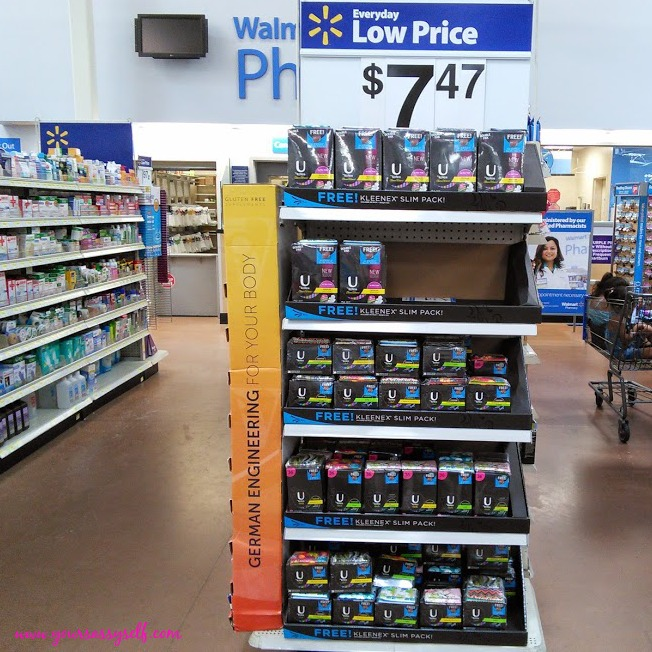 Walmart UbyKotex-yoursassyself.com