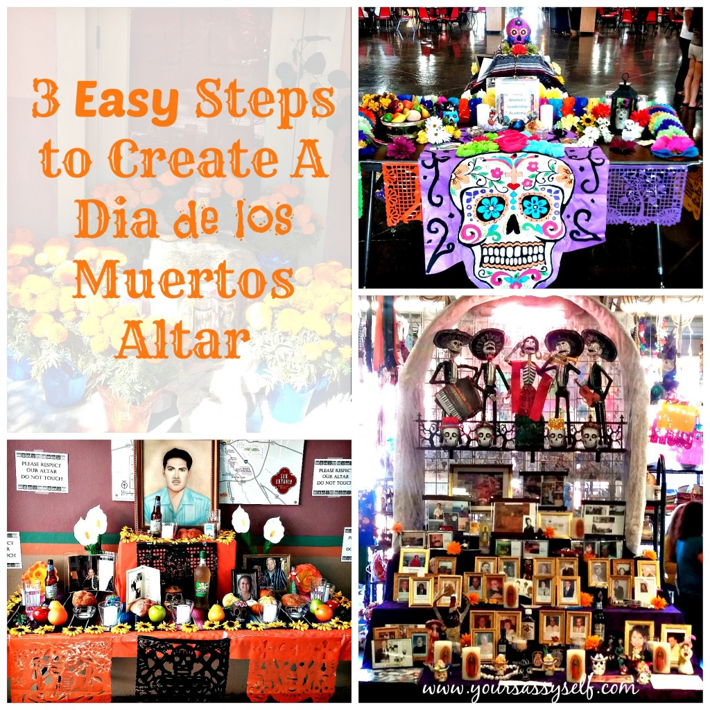 3 Easy Steps to Create Dia De Los Muertos Altar-yoursassyself.com
