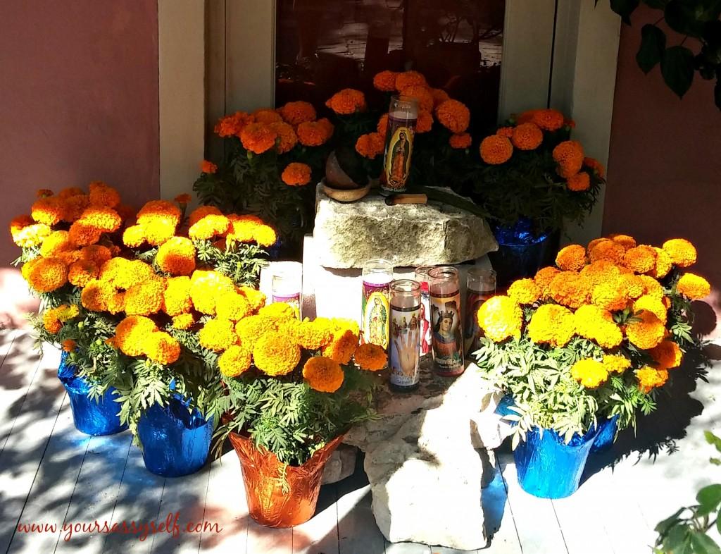 Dia De Los Muertos Marigolds-yoursassyself.com