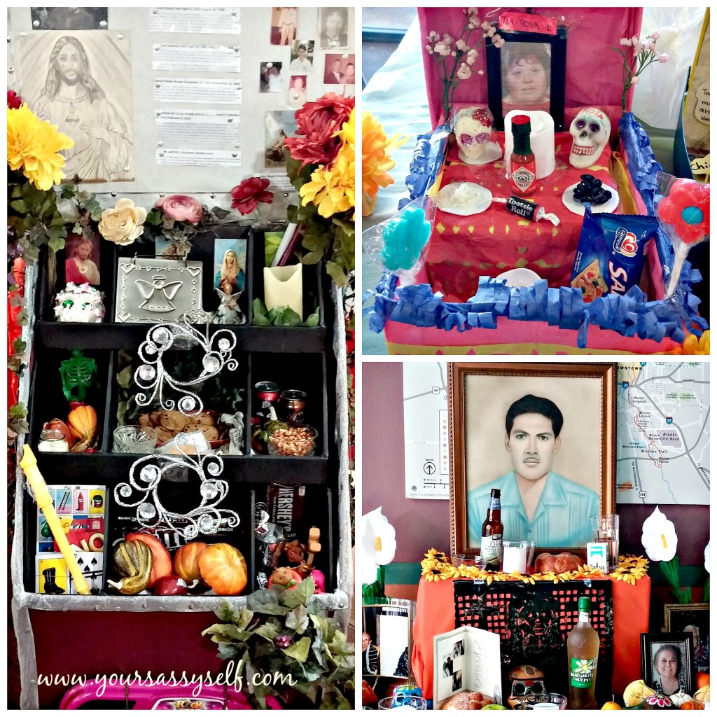 Personal Items For Dia De Los Muertos Altar-yoursassyself.com