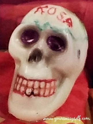 Personalized Sugar Skull-yoursassyself.com