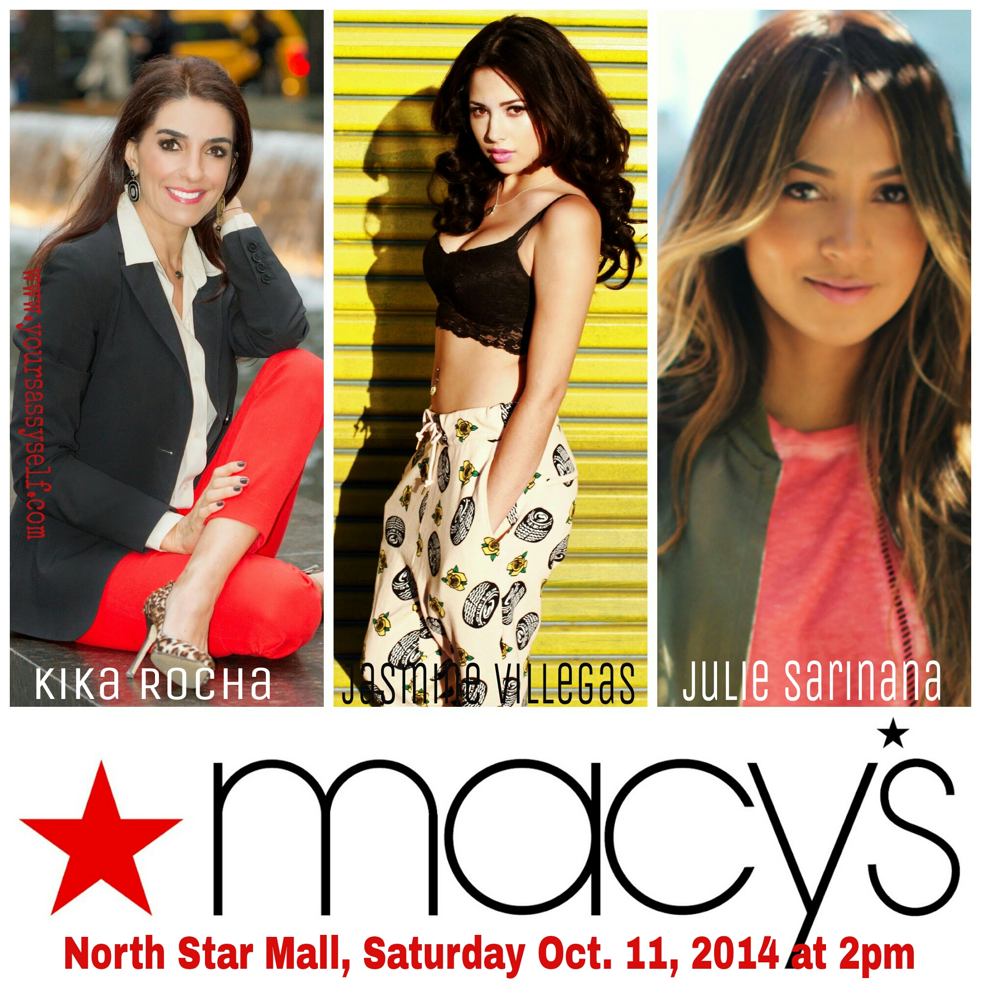 San Antonio, Celebrate Hispanic Heritage Month with Macy's, Kika Rocha, Jasmine V & Sincerely Jules!
