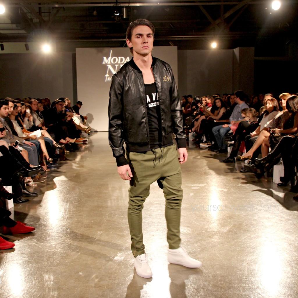 Bruno Horwath Black n Green Mens Look-yoursassyself.com