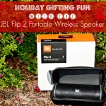Holiday Gifting Fun with the JBL Flip 2 Portable Wireless Speaker