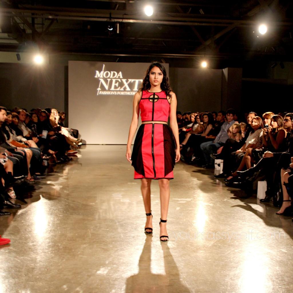 Valerie Perez Red Dress Separates-yoursassyself.com