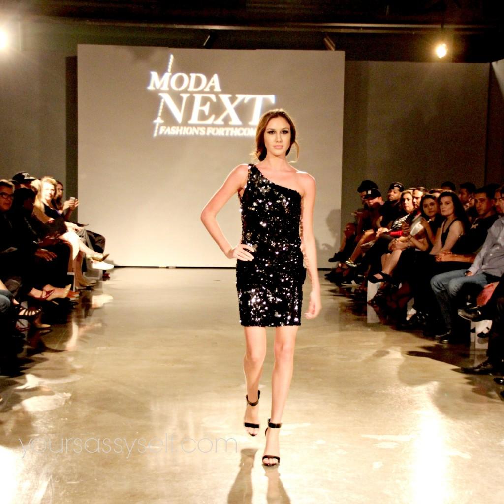 Valerie Perez Sequence Dress-yoursassyself.com