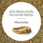 Kick off the New Year with 100 Good Deeds #DeedADay
