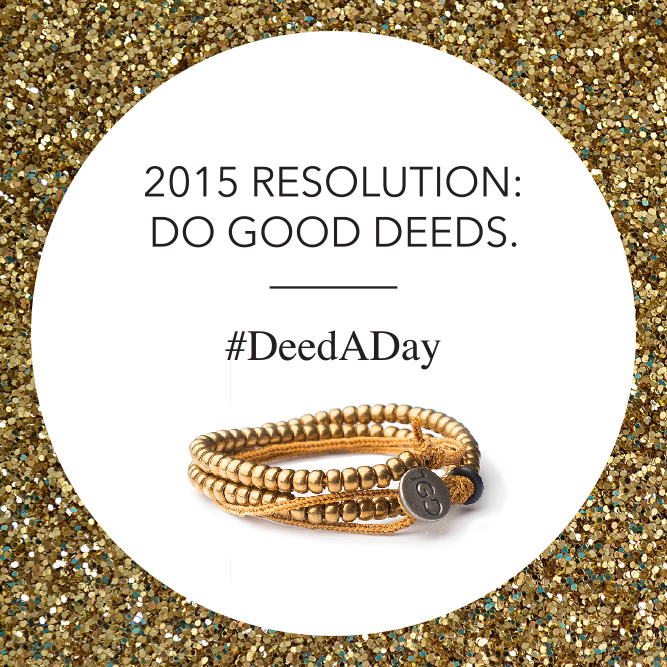 Kick off the New Year with 100 Good Deeds #DeedADay