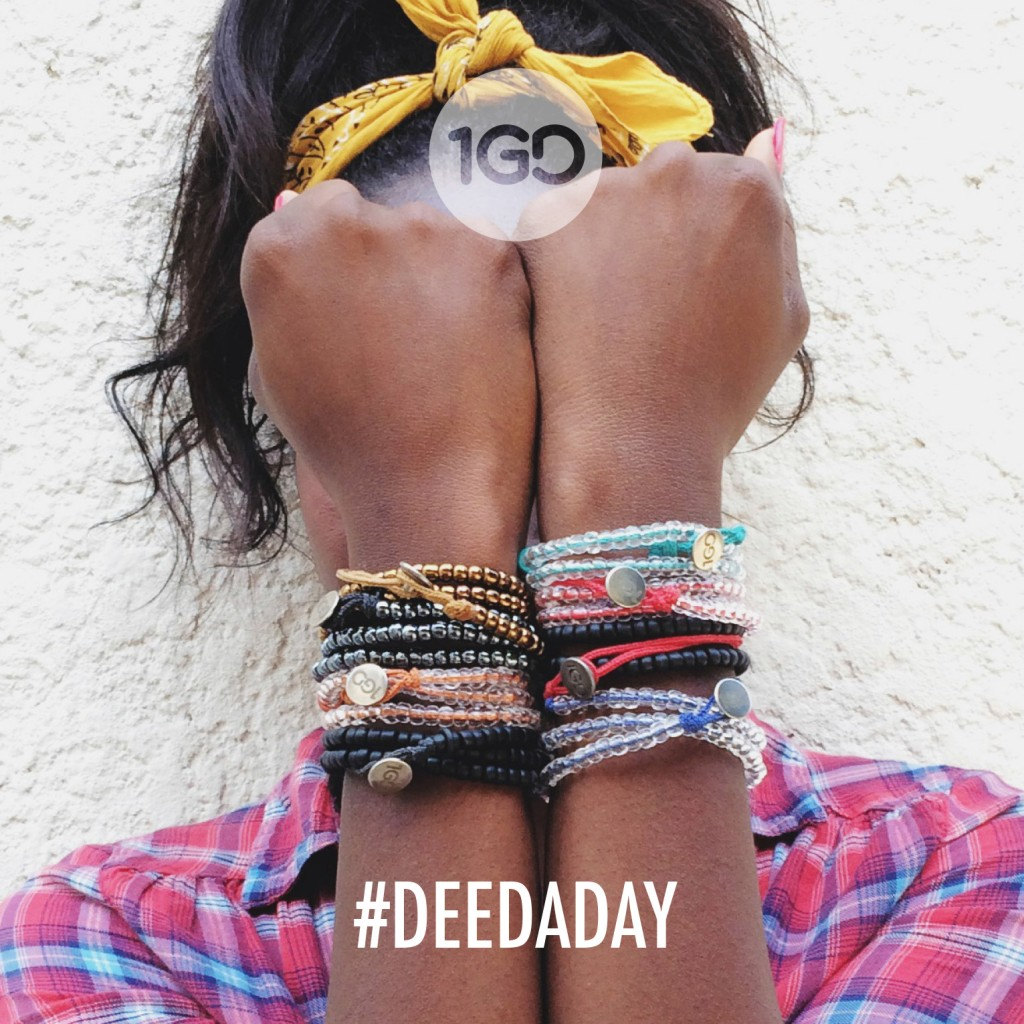 100 Good Deeds Bracelet Gives Back-yoursassyself.com
