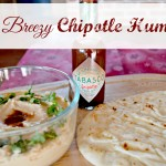 Easy Breezy Chipotle Hummus – Delicious Party Food